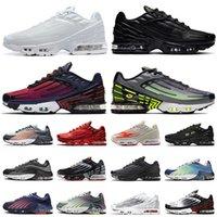 2021 Vapourmax Tn 3 Plus 2 Big Size Us 12 Men Women Running Shoes Airmaxs Radiant Red Tuned III Triple Black White Tns Bright Neon II Off