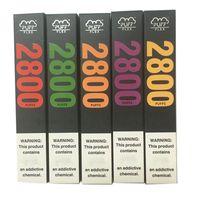 Puff Flex Cigarrillos electrónicos Kits de inicio 2800 Puffs Dispositivo Vape Pen 1500mAh Batería 10ml Pre-llenado 13colors Vapores originales