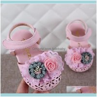 Baby, Maternity Athletic & Outdoor Est Summer Kids Leathers Shoes Sweet Flower Children Sandals For Girls Toddler Baby Breathable Hollow Out