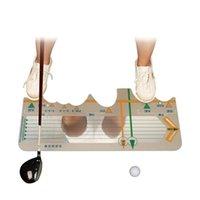 Golf Training Aids Station Board Swing Trainer Practice Practice Posture correttivo Beginners Batting Calibrazione Accessori Accessori Forniture
