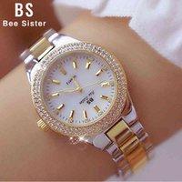 Designer Watch Brand Watches Luxury Watch Atch Crystal Diamant Rostfritt Stål Silver Klocka Kvinnor Montre Femme 2020