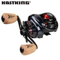 Kastking Spartacus / Spartacus Plus Baitcasting 8 кг Перетаскивание 11 + 1 Шариковые подшипники 6.3: 1 Высокоскоростной 230 г Рыболовная катушка