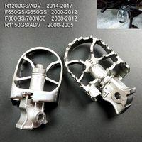 Motocicleta PEG PEGS Aventura Footpast Footpegs Resto For- R1250GS R1200GS LC R1250 R1200 GS R1150GS Pedales