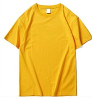 21ss Mens Tees luxury Casual yellow T Shirts Street Designer Hip hop 11 styles Shorts Sleeve Clothes size s-3xl