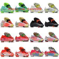 2021 أحذية كرة القدم mercurial superfly 8 الرابع عشر النخبة fg cleats neymar ronaldo cr7 كرة القدم الأحذية scarpe calcio