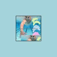 Sports nautiques à l'extérieur Personnes Natation Paysages Pierbe Gants Pads Sild Mains Pers Palmatiques Aessories Maillot de bain Équipement de gant Drop Drop Drop Drop