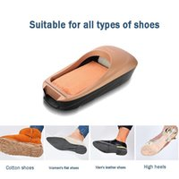 Disposable Covers Shoes Machine Automatic Shoe Cover Polishing Equipment Kit Set Foot For Home Tool Film Silver