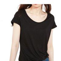 Summer 2021 New Modal T-shirt Women's Around Throat Mouwlless Korean Version of Pure Color Slender Elastic Bottom Shirt