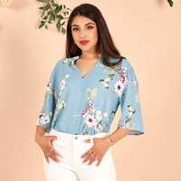 Women's Blouses & Shirts Loose And Exquisite V-neck Top, Fashionable Work Clothes, V-neck, Match All Styles