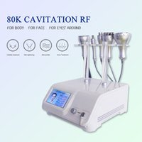 2021 5 In 1 80k Ultrasonic Cavitation Radio Frequency RF Slimming Machine Body Shaping Sculpting Skin Care Wrinkle Removal Device & Beauty Equipment
