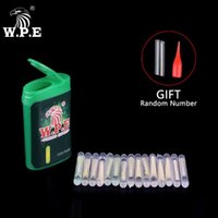 W.P.E 15/30 / 45 шт. 4.5 * 39 мм Рыбалка Float Floomsent Light Stick Glow Luminous Carp Frack Night Pesca аксессуары