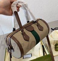 Moda Üst G 1955 Kalite Kadın Lüks Tasarımcı Çanta Omuz Çantaları Göğüs Kılıfları Cep Silindir Debriyaj Çanta Crossbody Bel Çanta Çanta Çanta 2021 En Popüler