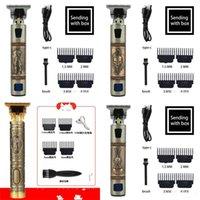 Hair Trimmer Barber Bath Hair Clipper Cordless Hair Cutting Machine Beard Trimmer Shaving Machine Wireless Electric Razor Men Shaver 59 H1