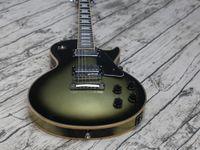 Guitarra elétrica personalizada, Adam Jones Vintage Prata Burst Guitar, vintage ligação sobre trastes, fingerboard de ébano, guitarra de qualidade