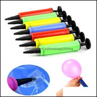 Event Festive Party Home & Gardenparty Decoration 1Pcs Portable Mini Hand Inflator Balloon Toy Swimming Circle Inflatable Pillow Festival To