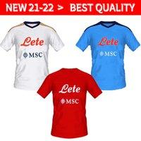 21 22 Napoli Futbol Jersey Napoli Futbol Gömlek 2021 2022 Koulibaly Camiseta de Fútbol Insigne Maradona Maillot Ayak Mertens Camisa