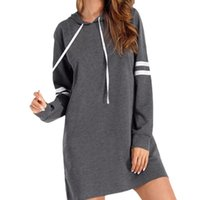 Women's Hoodies & Sweatshirts Women Long Sleeve Tops Crew Neck Sweatshirt Pullovers Jumper Print Drawstring