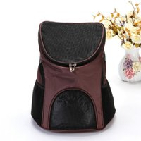 Gauze Dog fast shipping Front Chest Cloth Backpack fast shippings Outdoor Travel Durable Portable Shoulder Bag For Dogs Cats 22 8rs UU