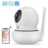 Cameras Mini 1080P HD WiFi IP Camera Face Detection Auto Tracking Wireless Network PTZ Baby Monitor Security Surveillance P2P Webcam