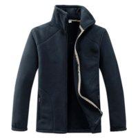 2018 Nuovissimi da uomo Giacche da uomo in pile soprabito per maschili a maniche lunghe doppia visiera giacche di velluto cappotto estratto abbigliamento kg-177
