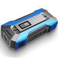 2021 Оригинал 12000 мАч ~ 15000 мАч Автомобиль прыжок стартер питания батареи с ЖК-экраном светодиодный фонарик