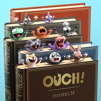 Creative 3D Animal Bookmark Box-Packing Cute Cartoon Book Mark for Kids Learning Gift