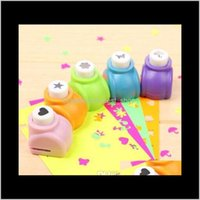 Circle Flower Punch Diy Craft Hole Puncher Kids Handmade Craft Gift Scrapbook Paper Cutter Scrapbooking Punches Embossing Device 9Cxsj 1Yxqf