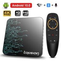 Topsion TP01 Smart TV Box Android 10 4GB 32GB 64GB 4K H.265 Media Player 3D Video 2.4G 5GHz Wifi Bluetooth Set top box
