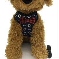 في الهواء الطلق كلب يسخر الكلاسيكية نمط الأزياء تعديل الحيوانات الأليفة تسخير لطيف تيدي المقود طوق دعوى صغيرة الكلب طوق الملحقات 311 s2