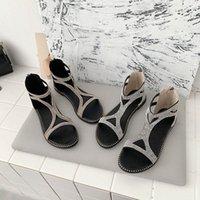Chaussures Femmes Femmes Chaussures Strass String Glaiat Sandales plats F8SQ #