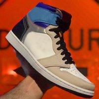 air retro jordan 1 Erkek Sneakers 1s Basketbol Koşu Ayakkabıları 1 Üniversite Mavi Karanlık Mocha Obsidiyen Hiper Kraliyet Gümüş Toe Twist Shadow UNC Bayan Spor Eğitmenleri