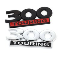 Car Sticker Metal 300 Touring Emblem Badge Motorcycle Trunk Decals for Dodge Jeep Chrysler Viper GTS 2019 Vespa GTS 300 Touring
