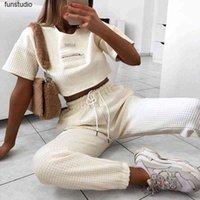 Serin Kadınlar Yüksek Bel Pantolon Katı Bej Gevşek Joggers Kadın Pantolon 2020 Sonbahar Kış Chic Parça Pantolon Kalın Capris Sweatpants1