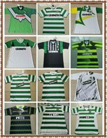 1980 1991 1992 1995 1996 1997 1998 1998 1999 Celtic Retro Soccer Jerseys 2005 2006 Classic Vintage Football Sports Shirts