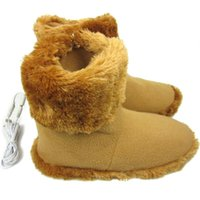 Carpets USB Removable Heating Boots Winter Foot Warmer Electric Shoes Battery Rechargeable Snow Washable Skiing Boot
