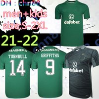 21 22 Celtic Soserys McGregor Griffiths 2021 2022 Duffy Forrest Christie Edouard Elyounoussi Turnbull Home Männer Kinder Fußballhemden