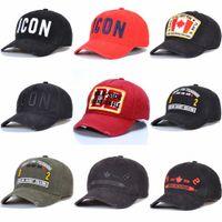2021 Мода Иконка Snapbacks Мужские дизайнерские Спорт D2 Caps Наружные Шляпы Casquette Вышивка Cap Регулируемая 17 Цветовая шляпа за буквой ATHH5 #