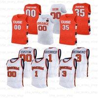 Benutzerdefinierte Syrakuse Orange College Basketball-Trikots 15 Anthony 33 Elijah Hughes 35 Buddy Boeheheim 11 Girard III 21 Dolezaj 1 Quincy Guerrier