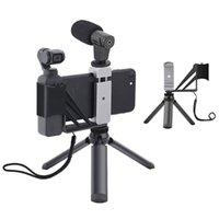 Adattatore del supporto del telefono pieghevole Clip Selfie Mount Metal Treppiede per Dji Pocket Palked Accessori per fotocamera Gimbal