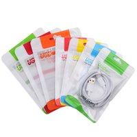Klare transparente Kunststoff-Ploybag-Handy-Boxen-Pakete für USB-Seilbahn-Ladegerät-Verpackung-Reißverschluss-Tasche