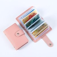 Card Holders Credit ID Business 24 Holder Cards Case Bags Pocket Clip Package Wallet Casual Fashion Cardholders Women Large Capacity