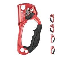 Cordas, Slings e Webbing Ao Ar Livre Esportes Rock Escalada Arborist Hand Dispositivo de Ascender Alpinista Lidar com Ferramentas de Rope para 8-12mm