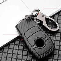 Scrub ABS car key protect case cover For Mercedes Benz BGA AMG W203 W210 W211 W124 W202 W204 W205 W212 W176 E Class W213 S class car Accessories