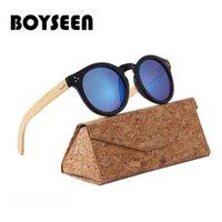 أزياء الخيزران الرجال النظارات الرجعية خمر النساء الخشب نظارات الشمس uv400 نظارات gafas دي سول اليدوية 4023