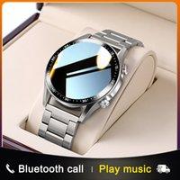 Designer relógio marca relógios Luxo relógio chamada personalizado mostrador completo tela de toque à prova d'água para Android Sports Fitness Tracker