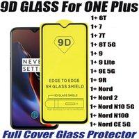 9Dフルカバー強化ガラスの電話スクリーンプロテクターのための1つのプラス2 CE 5G N100 N10 1+ 6T 7 7T 8T 9 Lite 9E 9R