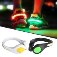 For Running Cycling Bike Sport Novelty lighting LED Luminous Shoe Clip Light Nights Safety Warning Bright Flash Fedex DHL,
