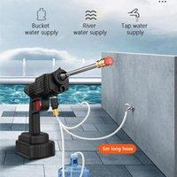 Water Gun & Snow Foam Lance 24V Cordless Portable High Pressure Wash Car Electric Washer Machine Battery Power Auto Spray Garden Tool