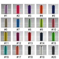New20oz Toz Boya Sıska Tumblers 20 Renkler Paslanmaz Çelik Su Şişeleri Çift Yalıtımlı Vakum Bardak Kahve Sütü İçme Deniz Wayccd8