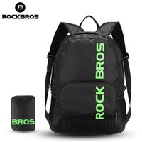 ROCKBROS Portable Sports Backpack Rainproof Foldable Bags Hiking Camping Cycling Bicycle Bike Pouch Men Women Package Travel Bag
